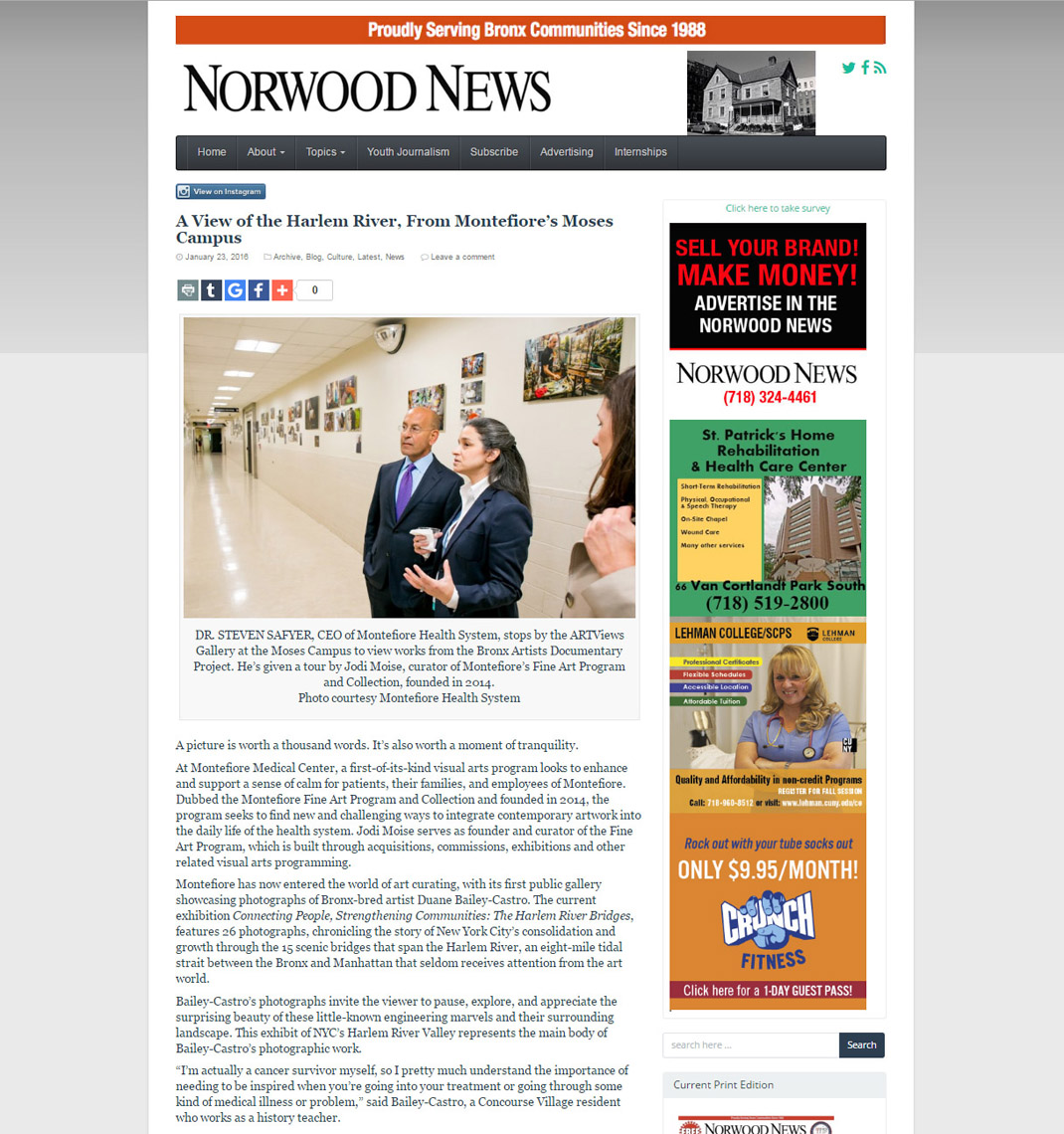 Norwood News 1-23-16